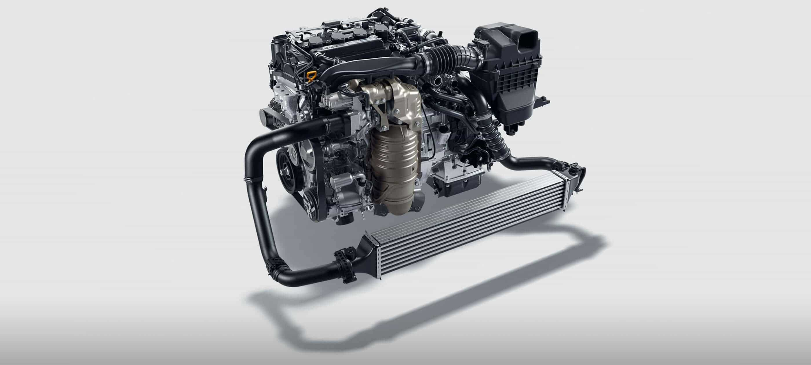 174-hp Turbocharged Engine