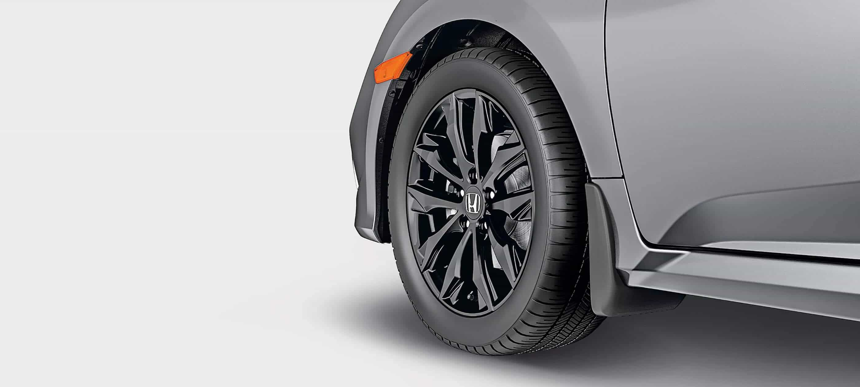 17-Inch Black Alloy Wheels