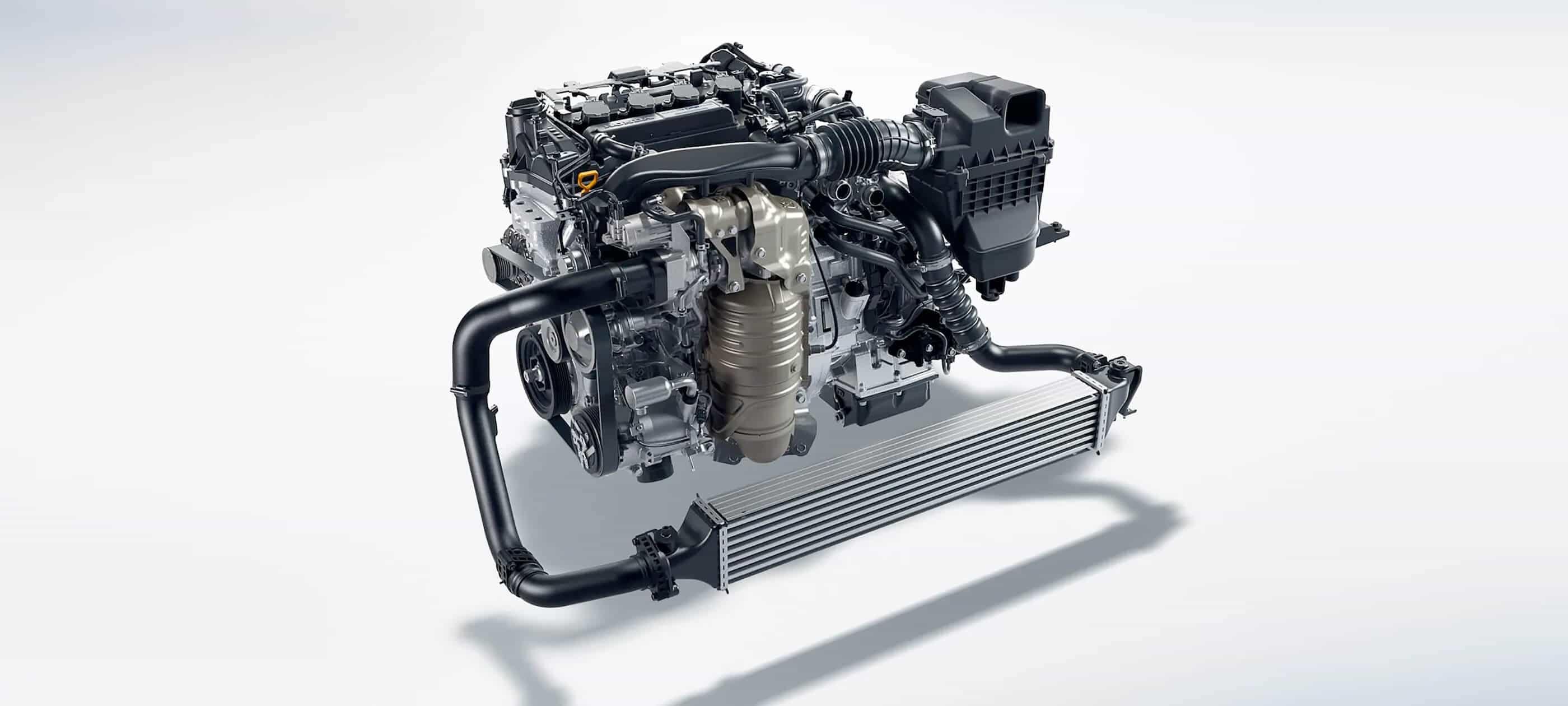 Motor turboalimentado de 174 caballos de fuerza