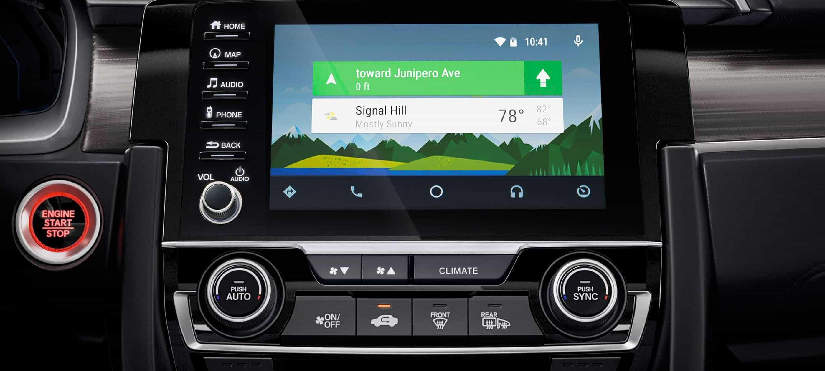 Integración con Android Auto<sup>™</sup>