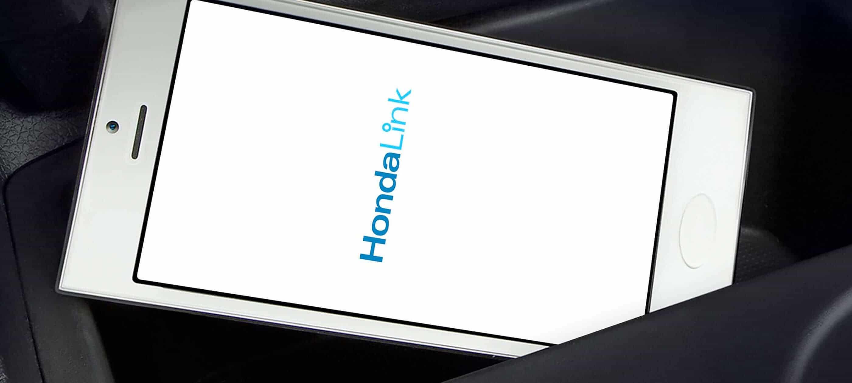 HondaLink<sup>®</sup>