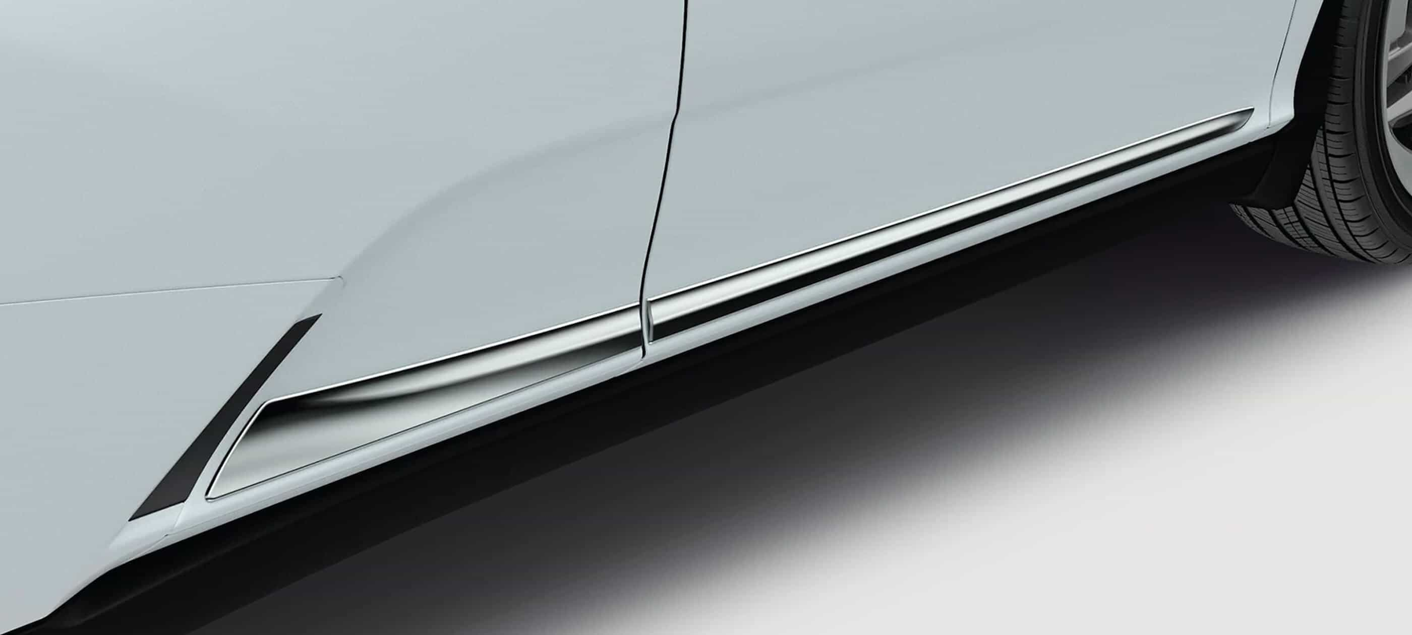Chrome Door Trim