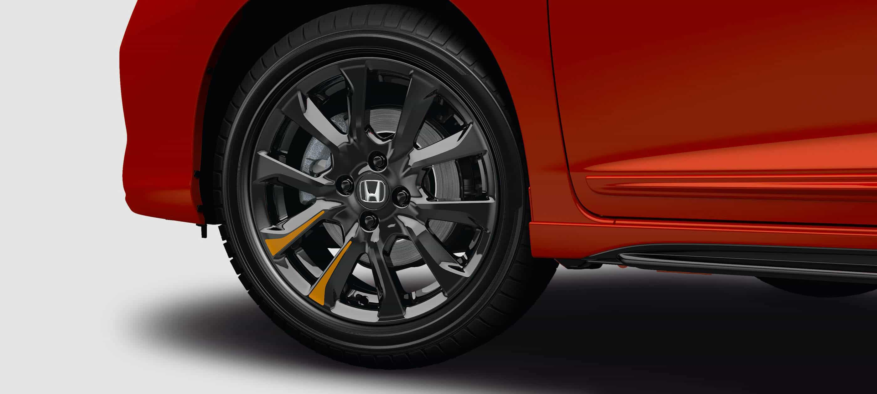 16-Inch Black Alloy Wheels