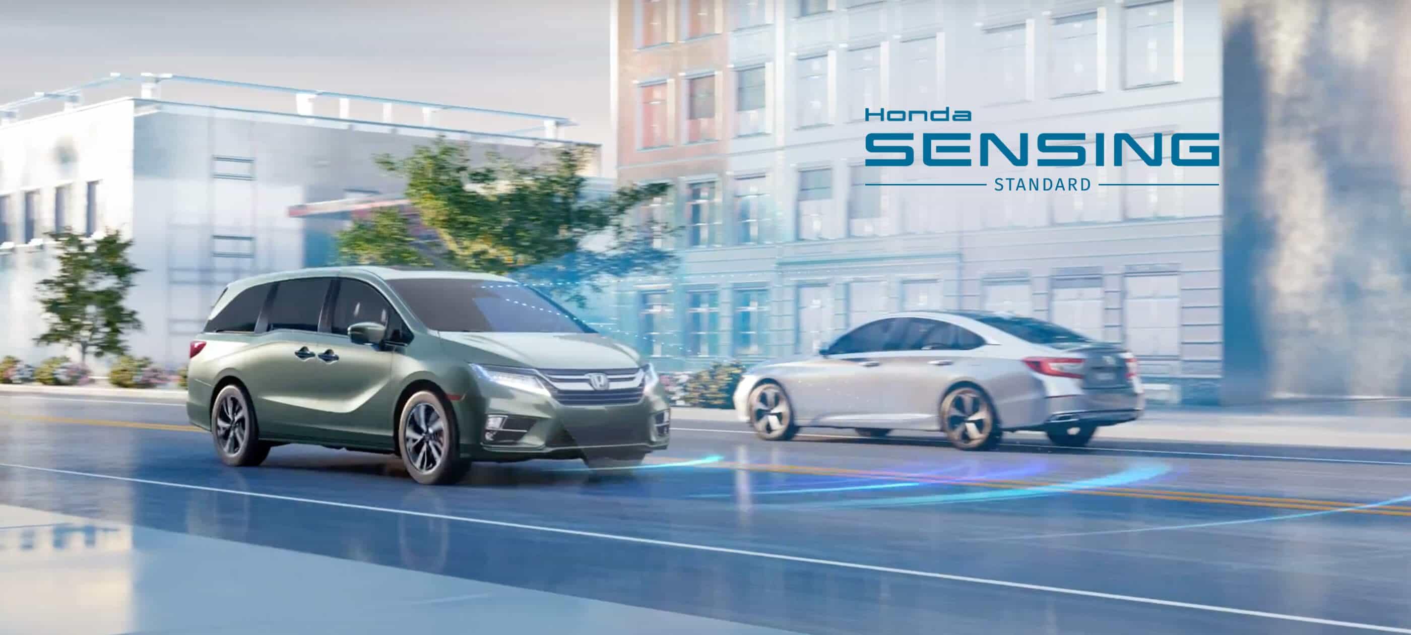 Honda Sensing<sup>®</sup>