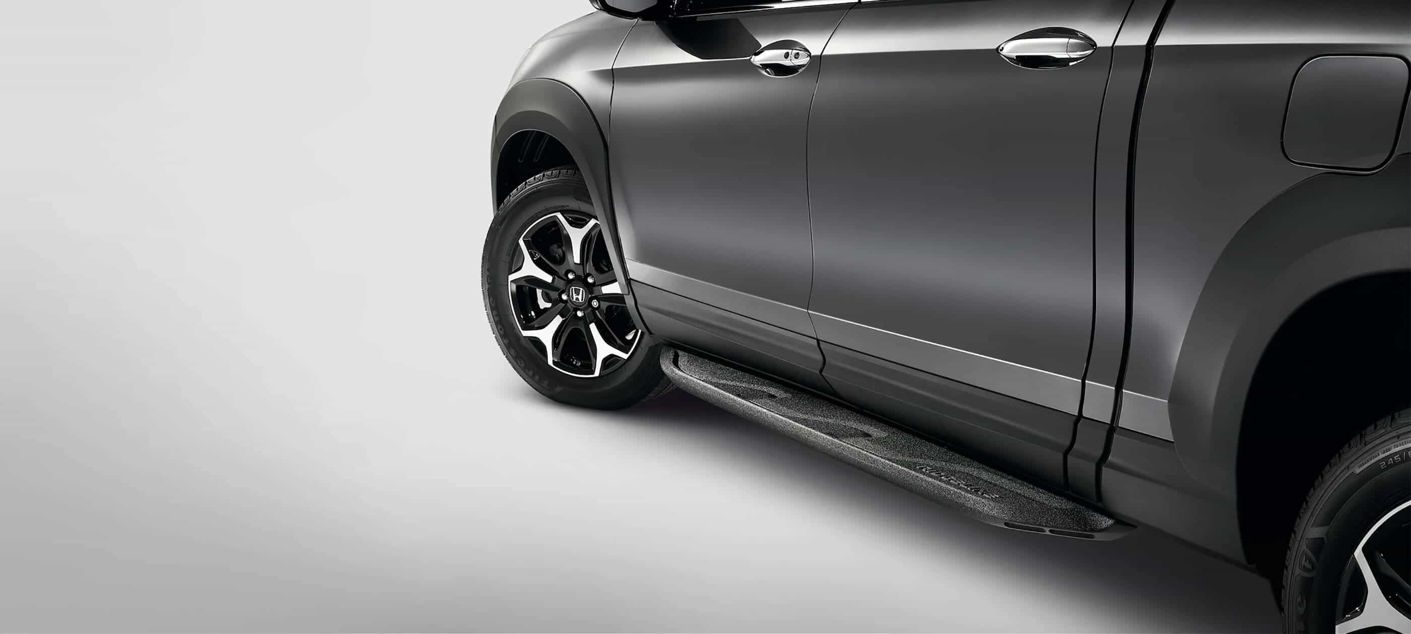 Black Running Boards