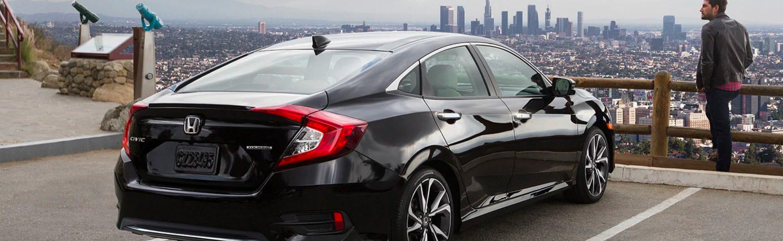 Black Honda Civic Sedan