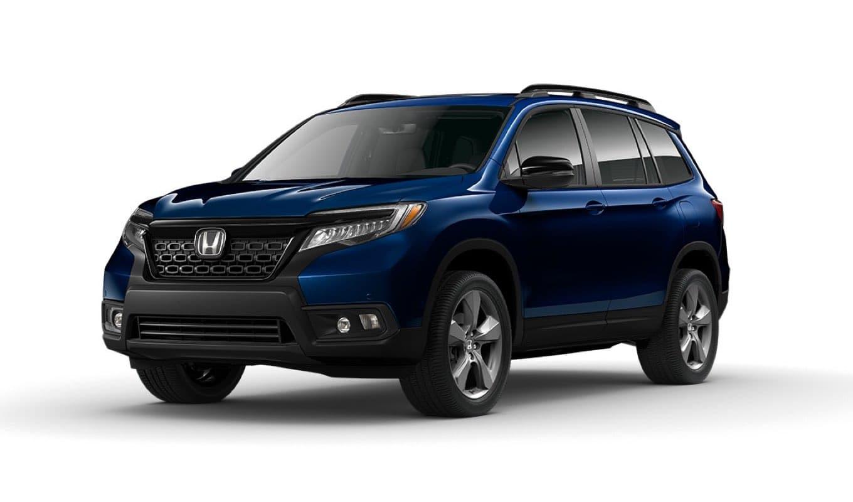 Blue 2021 Honda Passport Touring