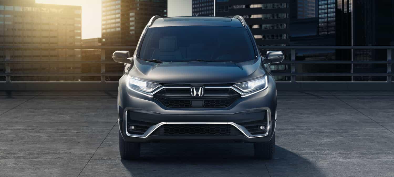 2020 Honda CR-V AWD Exterior Front Angle Daytime Lights