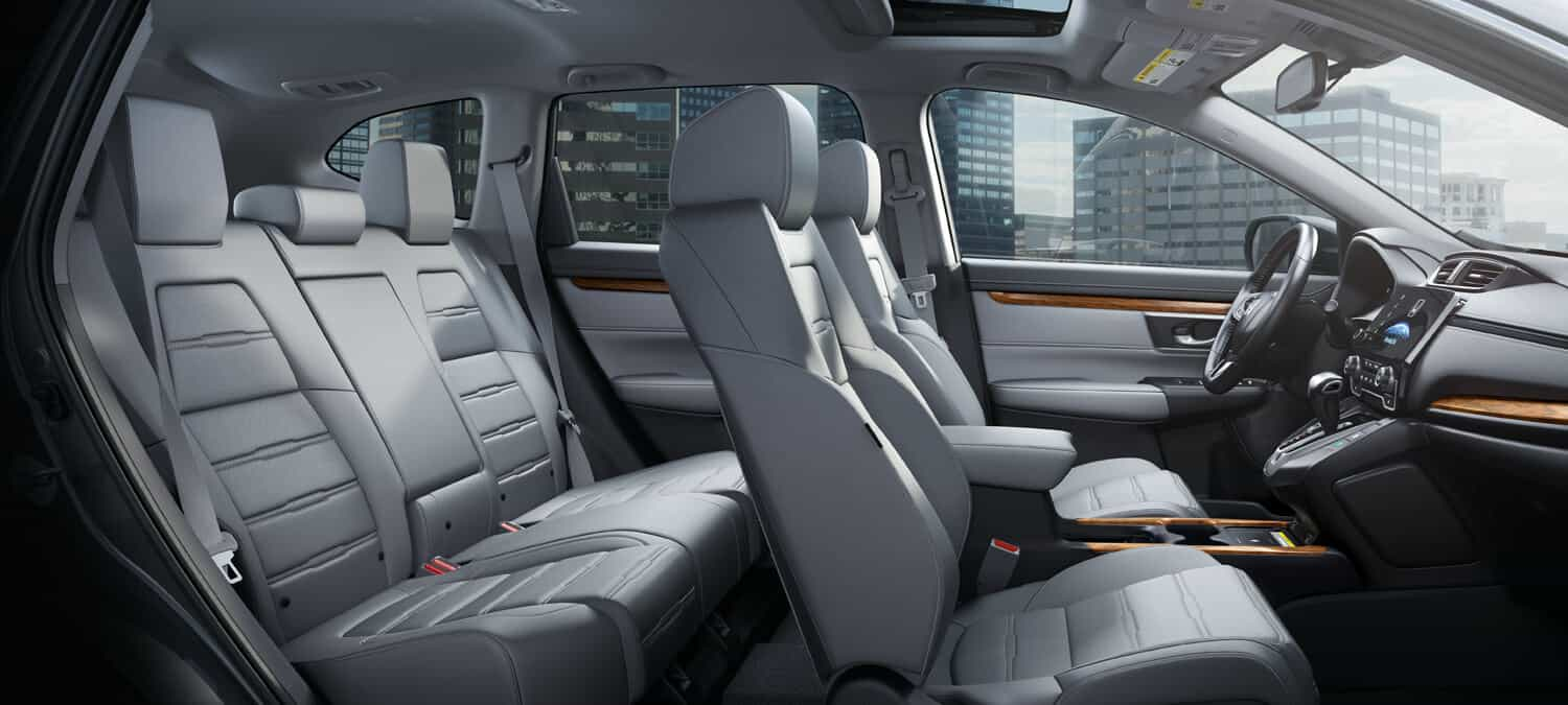 2020 Honda CR-V AWD Interior Seating Overview Passenger Side
