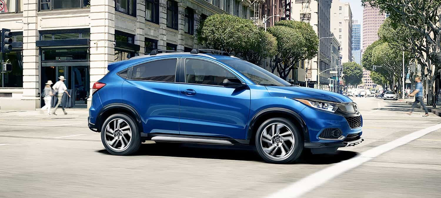 2020 Honda HR-V AWD Exterior Profile Passenger Side