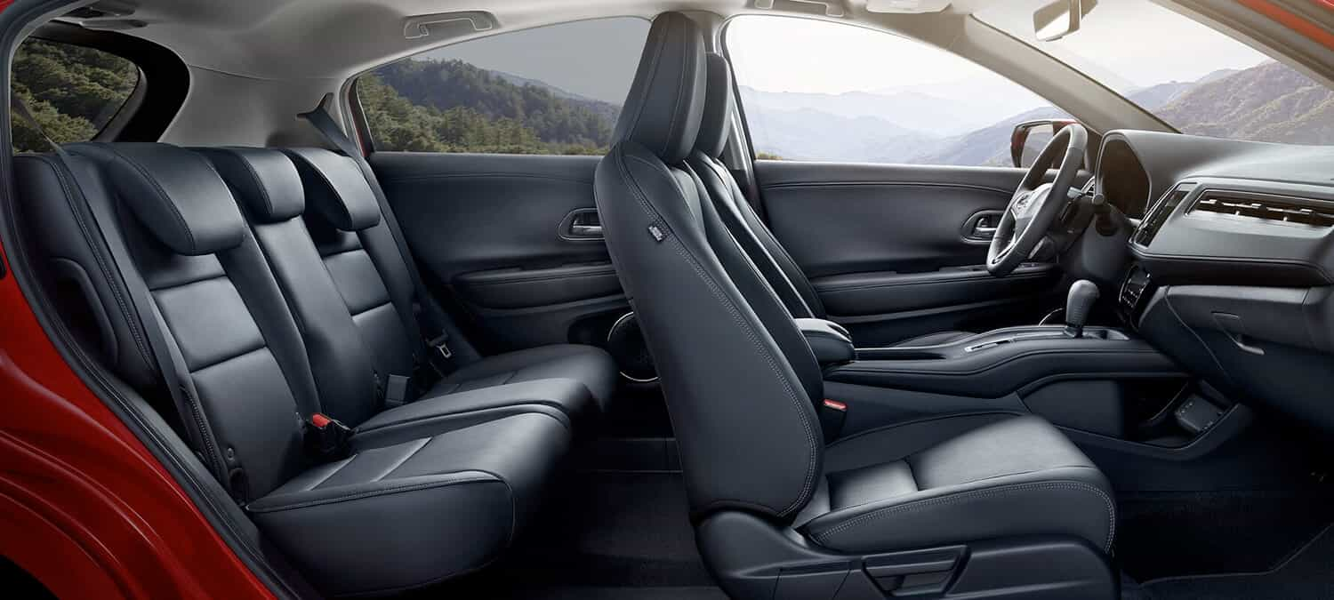 2020 Honda HR-V AWD Interior Seating Overview Passenger Side