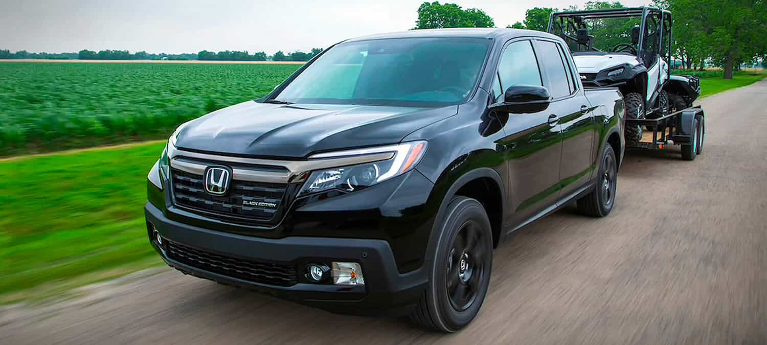 2020 Honda Ridgeline AWD Exterior Front Angle Towing Capabilities