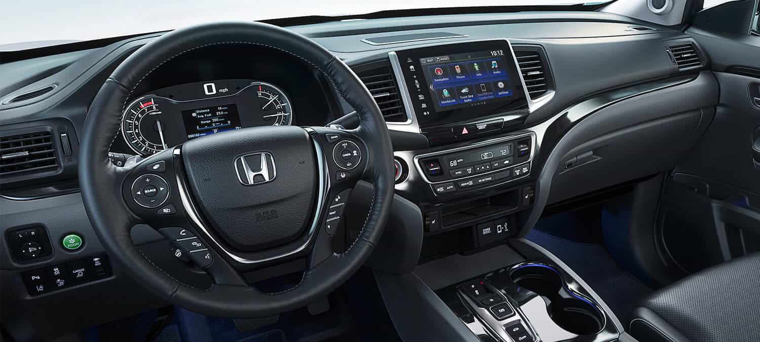2020 Honda Ridgeline AWD Interior Cockpit Driver Side