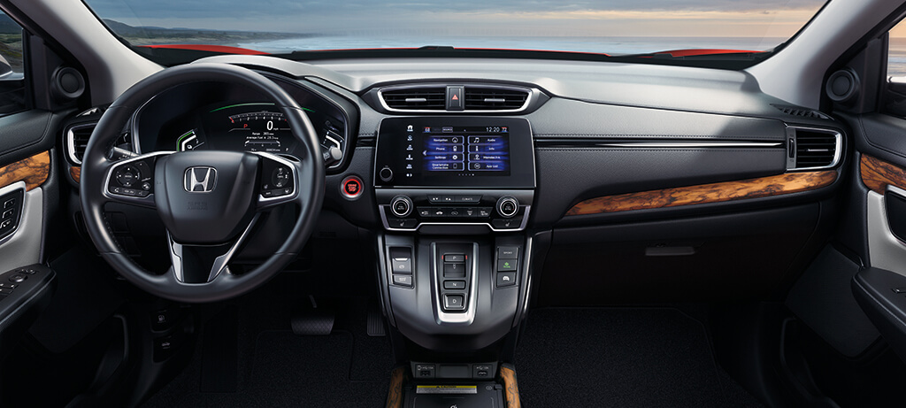 2020 Honda CR V Hybrid AWD Interior Cockpit Overview